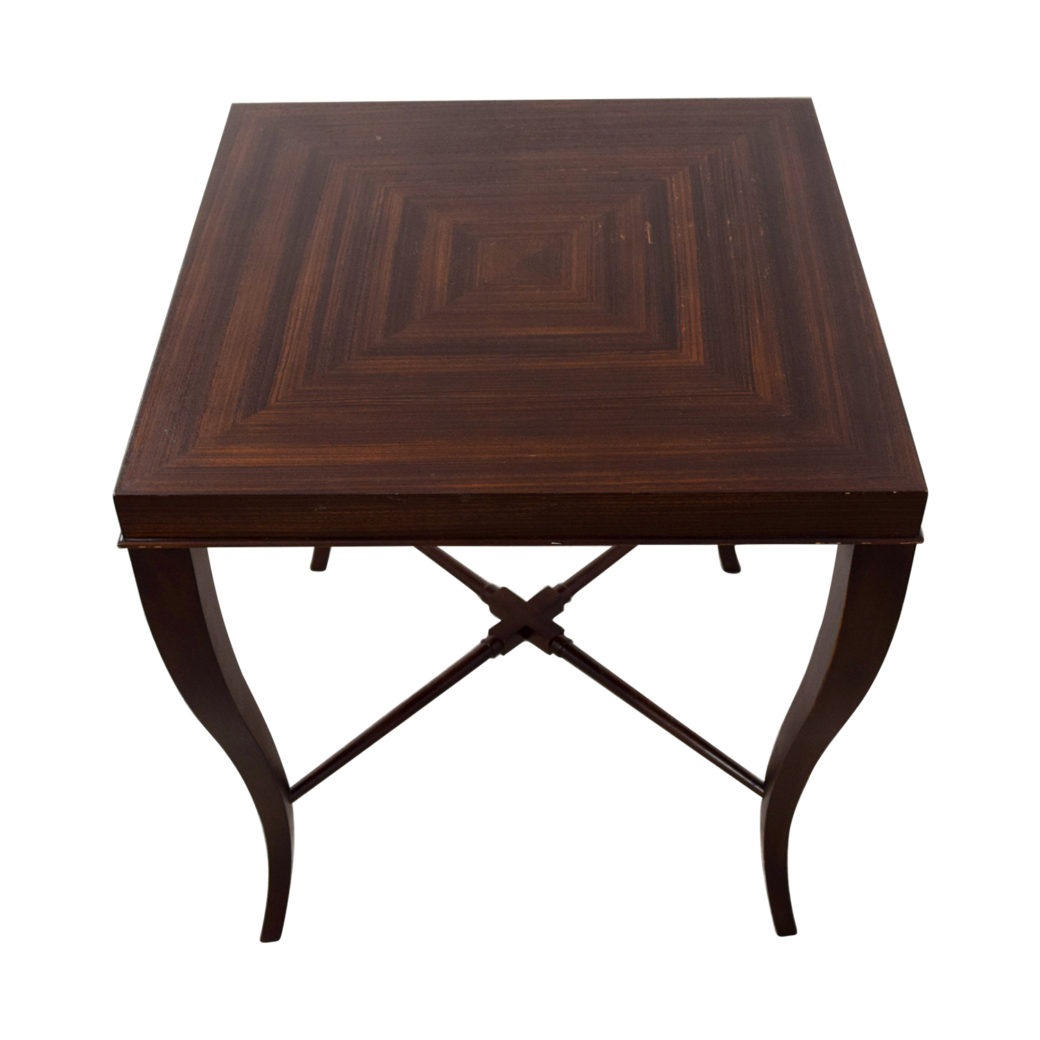 Ethan Allen Ethan Allen Wood Side Table coupon