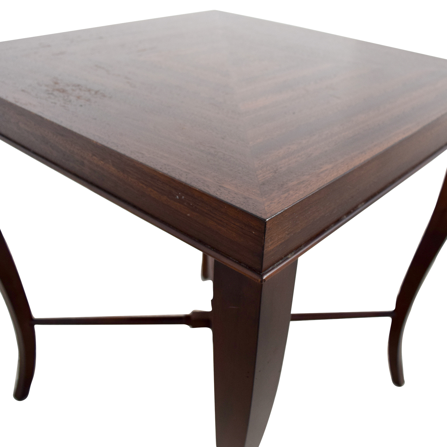 Ethan Allen Ethan Allen Wood Side Table Accent Tables