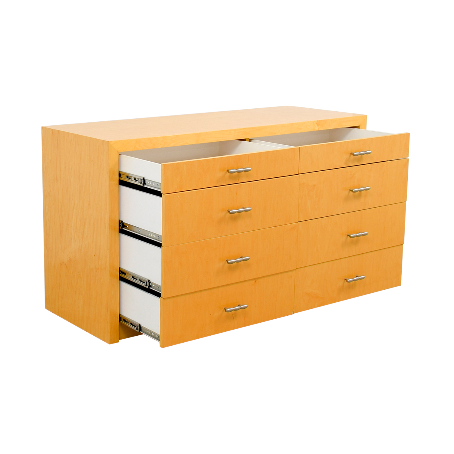 Manhattan Cabinetry Maple Eight-Drawer Dresser / Storage