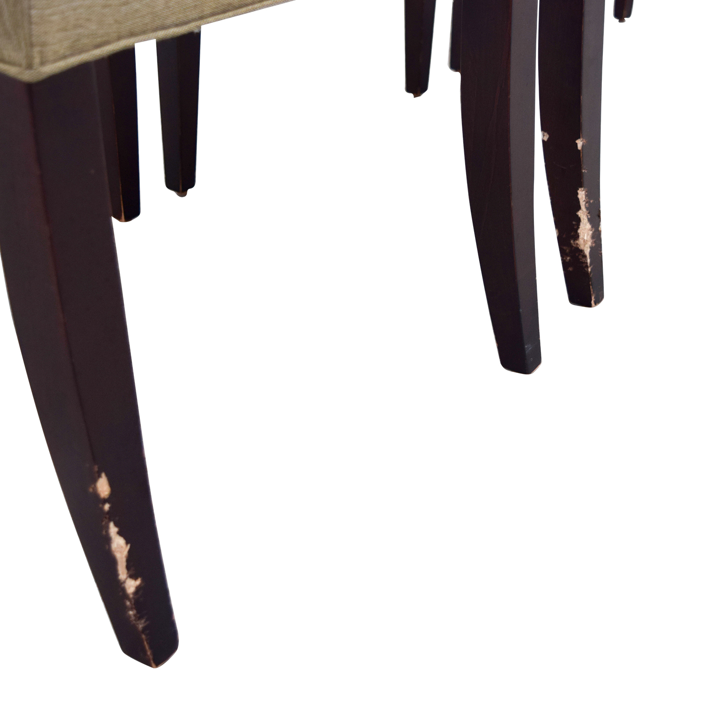 Room & Board Room & Board Marie Tan Side Chairs dimensions