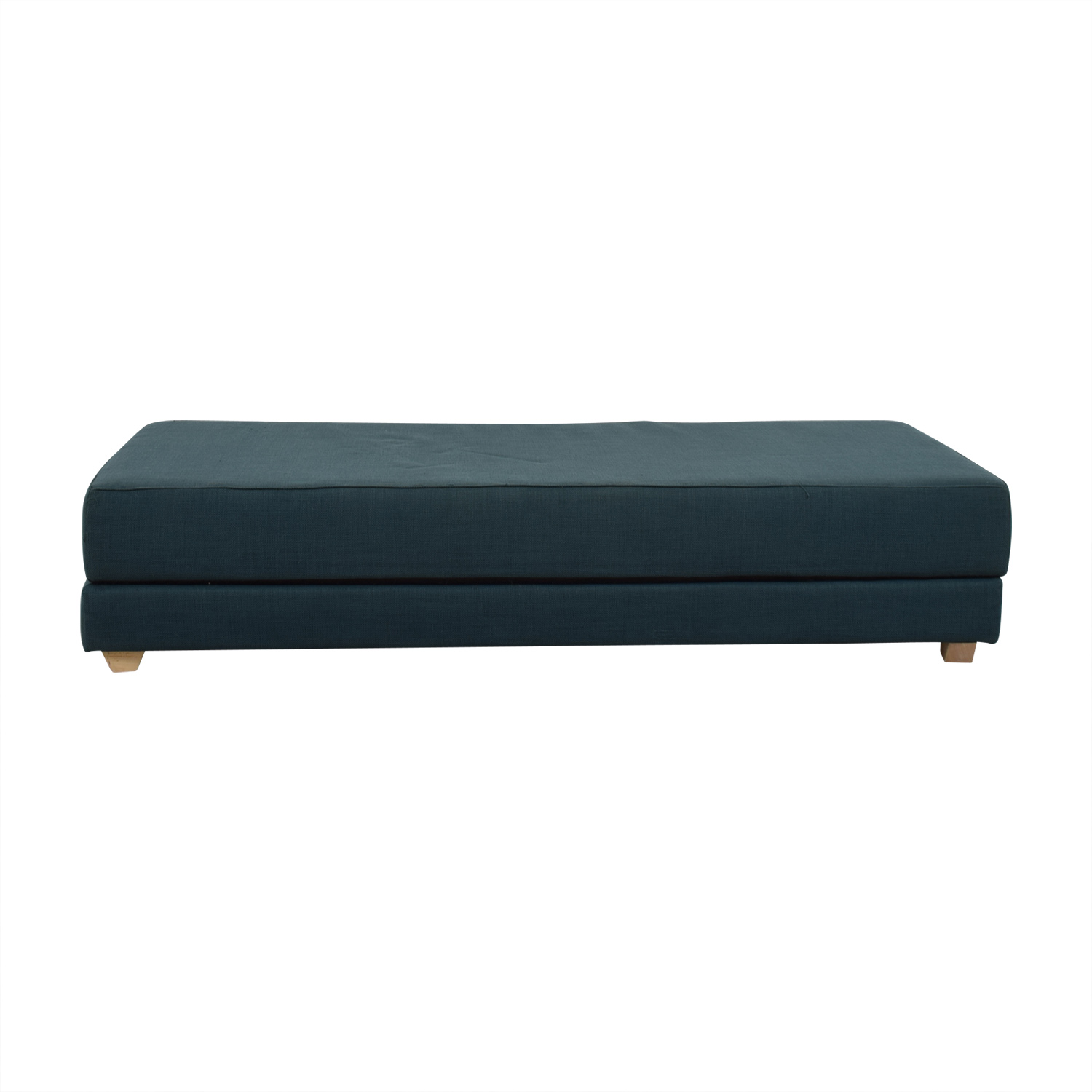 buy CB2 Lumi Blue Day Bed CB2 Classic Sofas