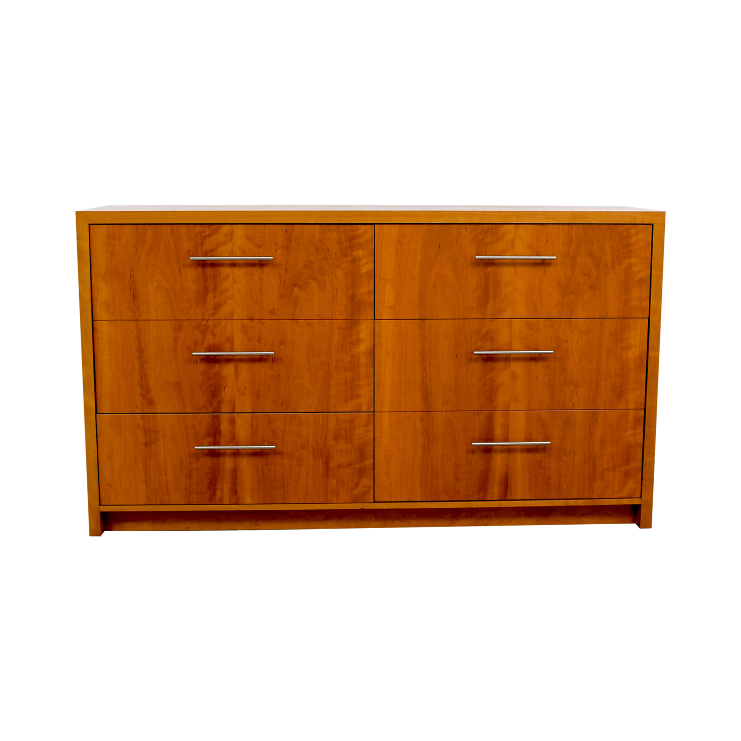 Wood Six-Drawer File Cabinet / Storage