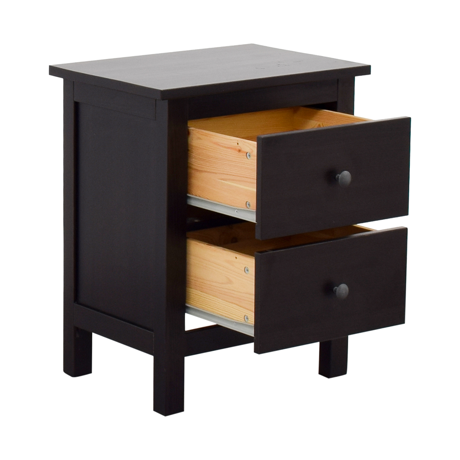 60 off ikea ikea hemnes two drawer chest tables. Black Bedroom Furniture Sets. Home Design Ideas