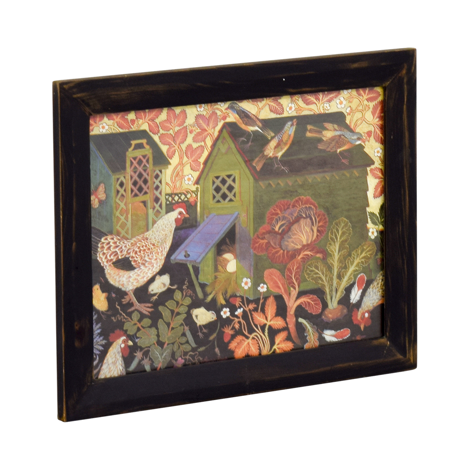 Clapper Hollow Designs Chicken Coop Framed Print Clapper Hollow Designs