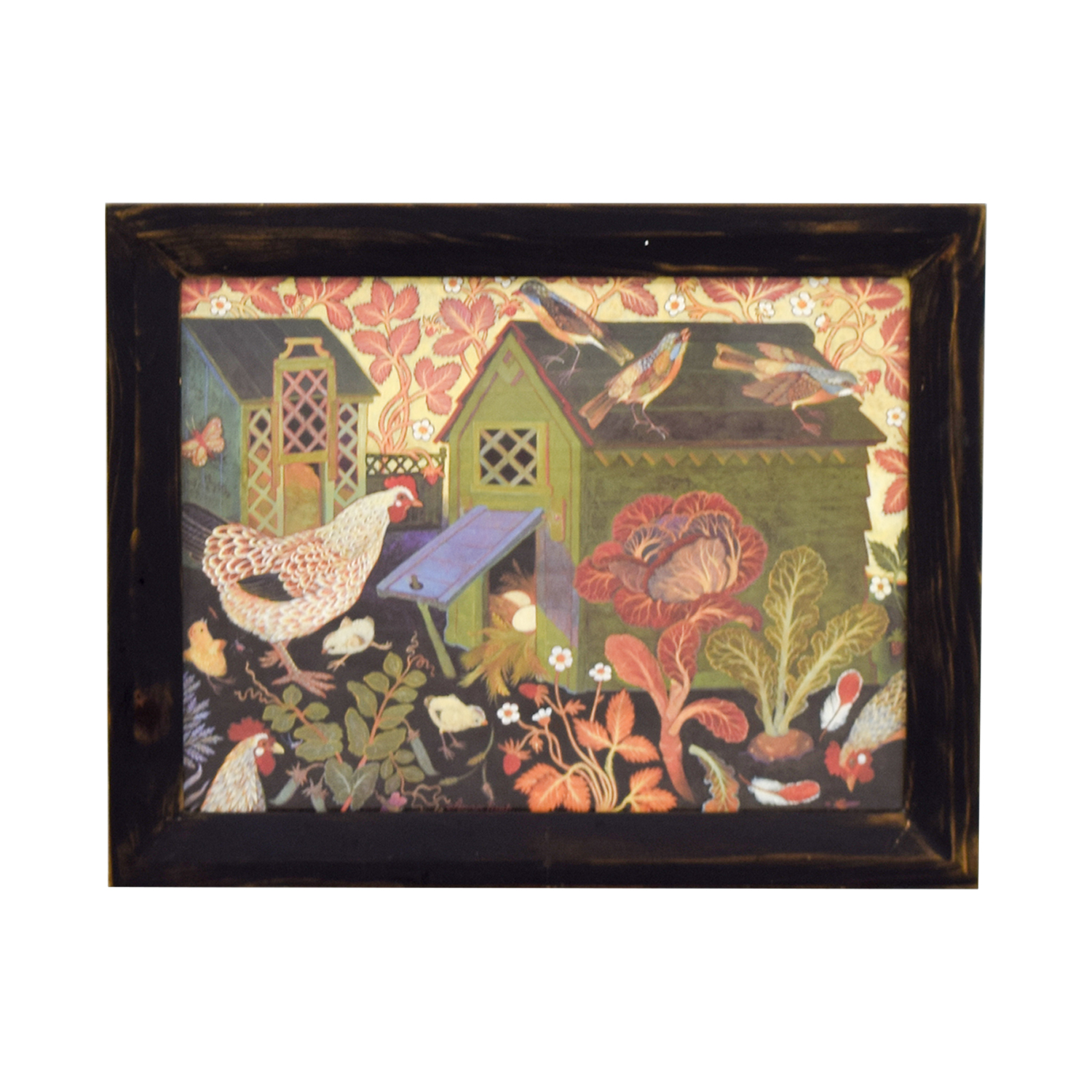 Clapper Hollow Designs Clapper Hollow Designs Chicken Coop Framed Print on sale