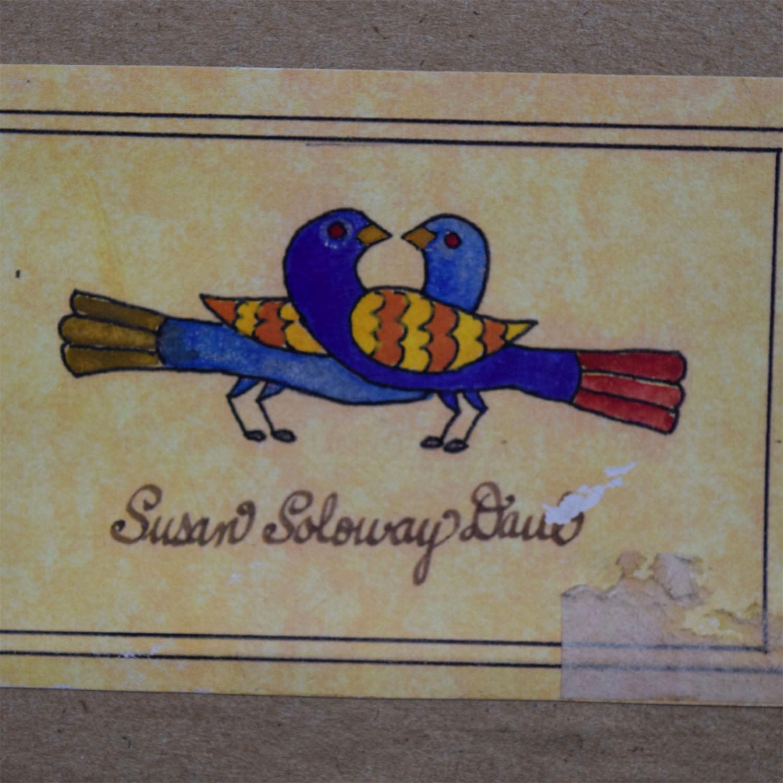 shop Susan Soloway Daul Susan Daul Unicorns Framed Folkart online