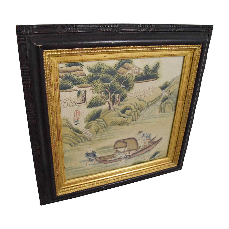 Chinese Framed Artwork / Decor