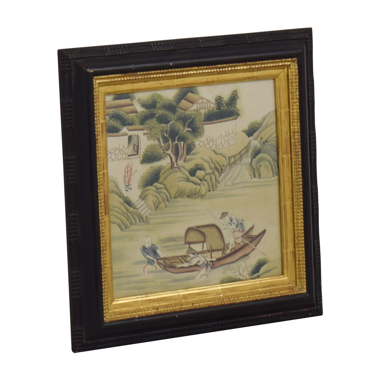 Chinese Framed Artwork discount