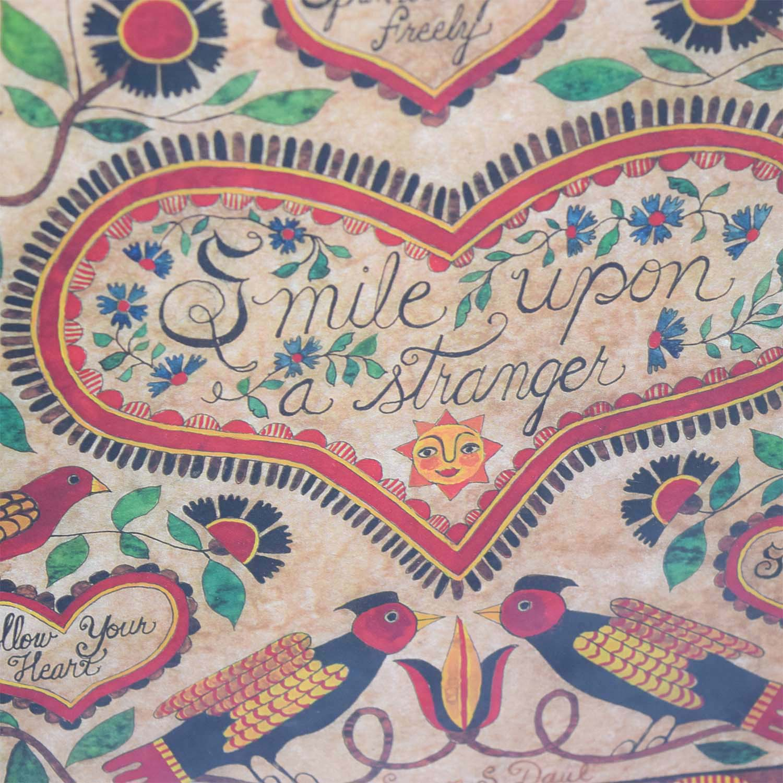 Susan Daul Smile Upon a Stranger Folkart sale