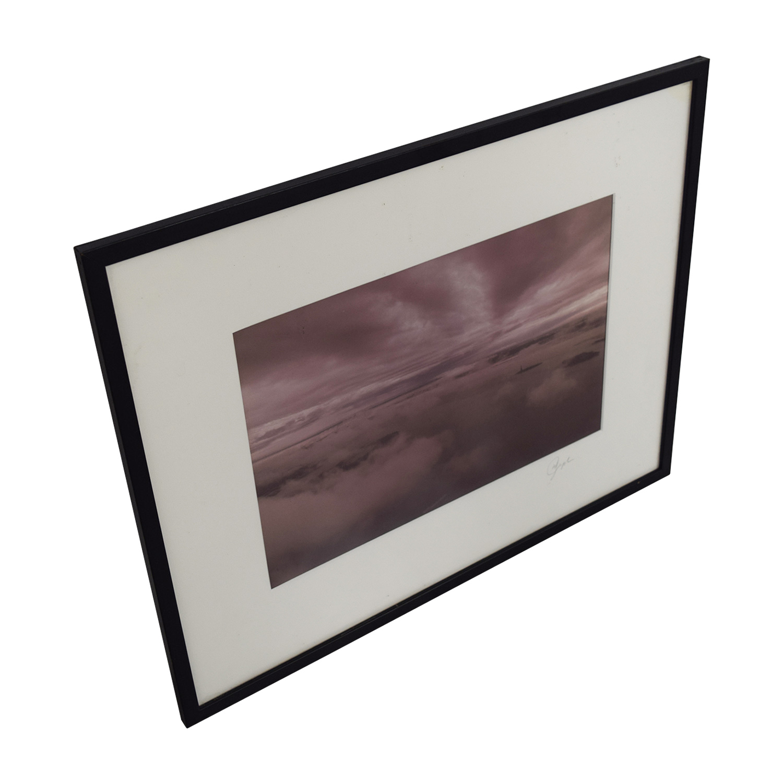 Sky Island View Framed Print Decor