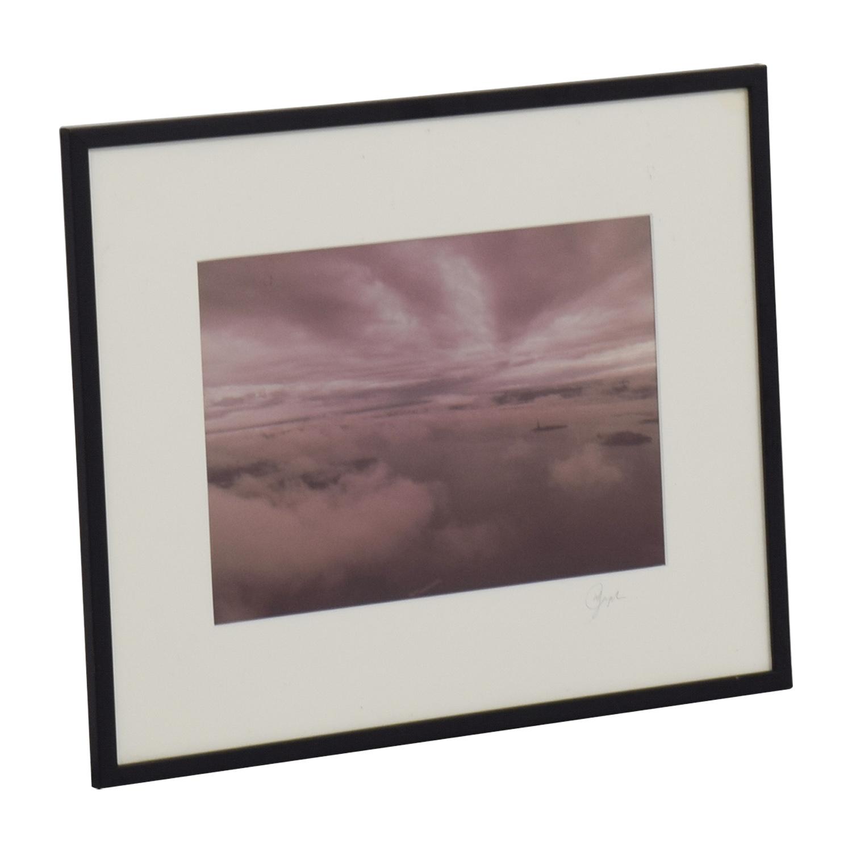 Sky Island View Framed Print discount