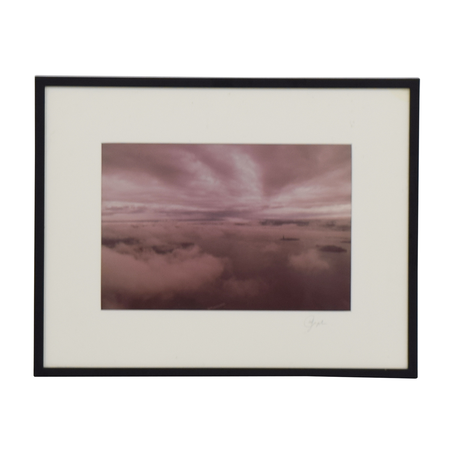 buy Sky Island View Framed Print Decor
