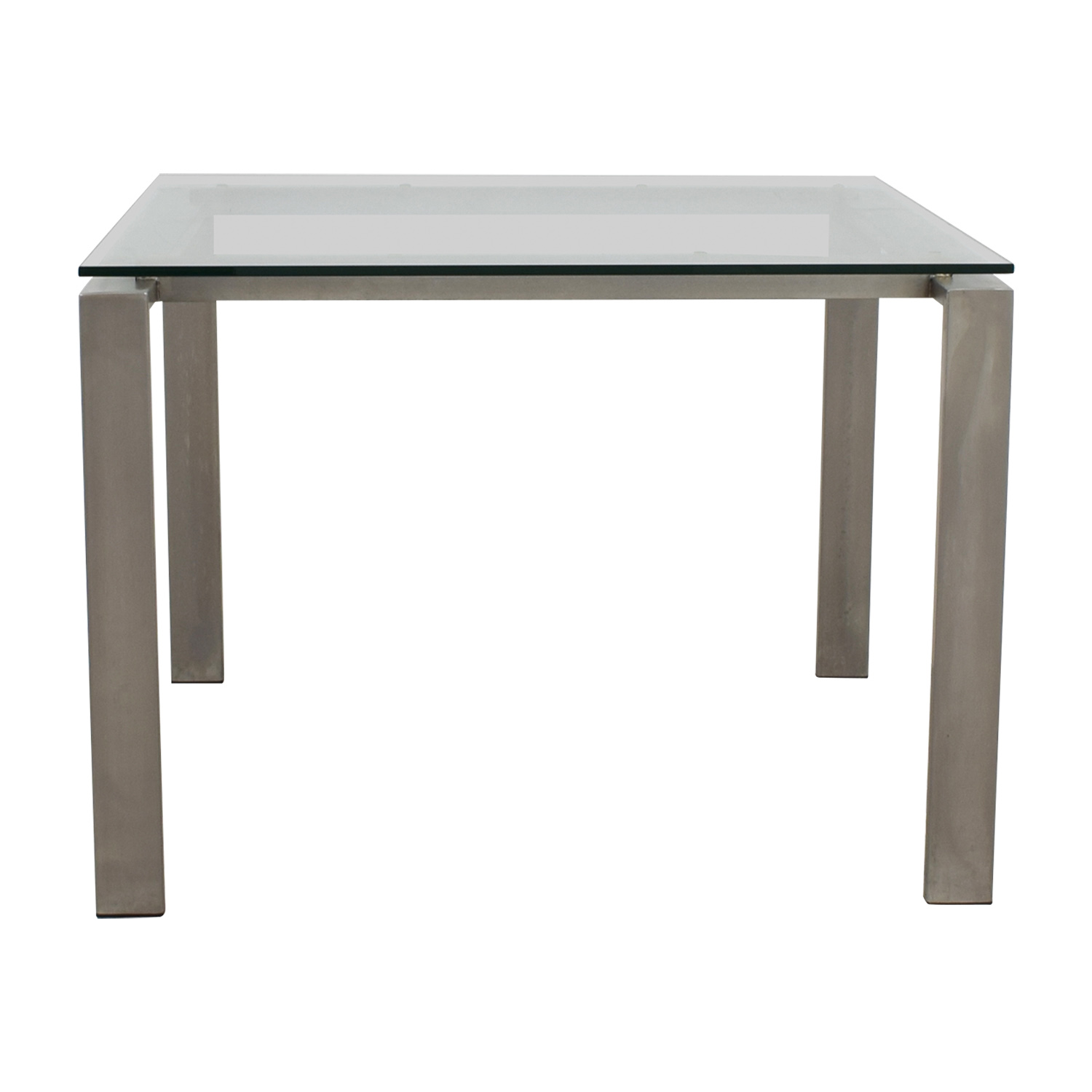 buy Room & Board Rand Glass and Metal Dining Table Room & Board