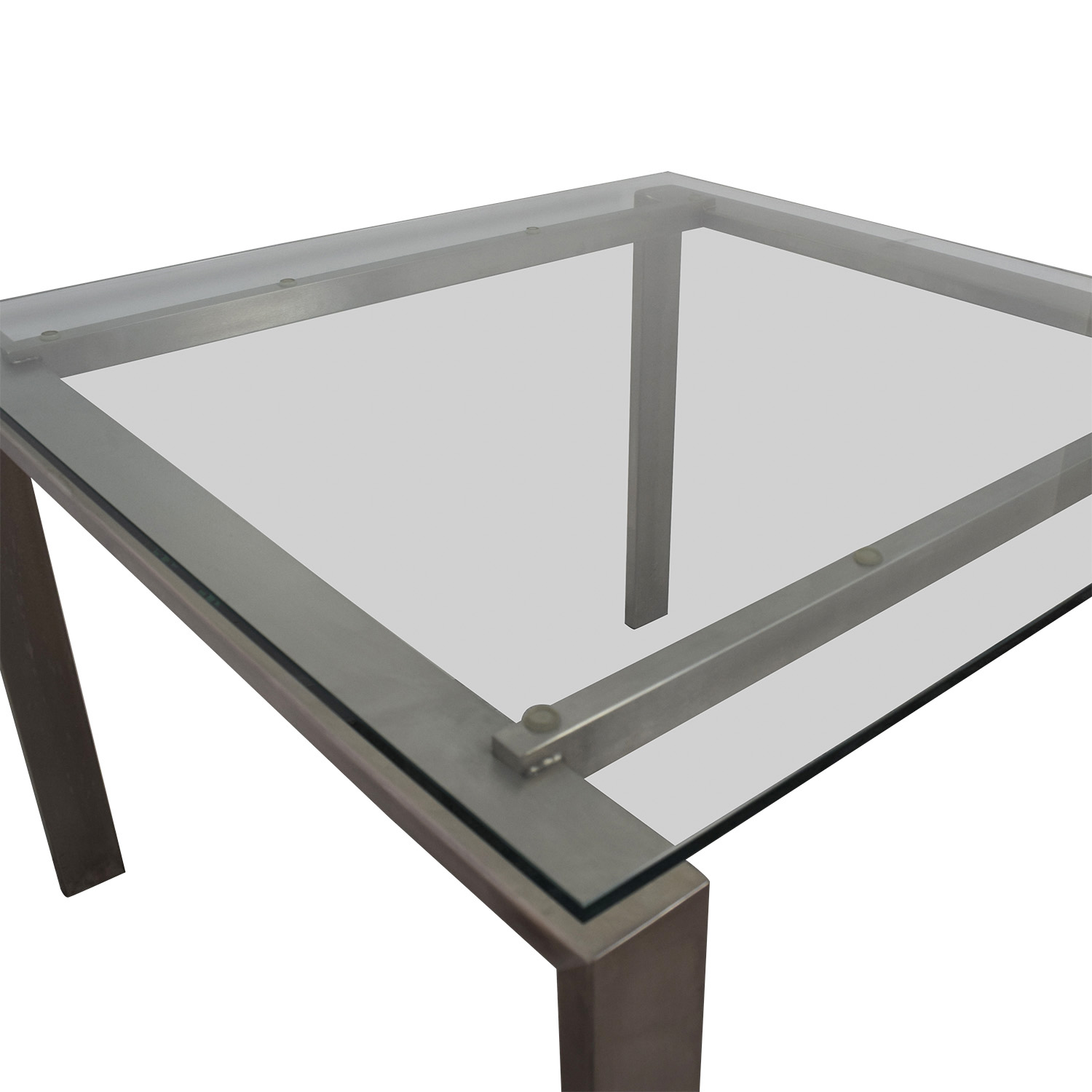 Room & Board Room & Board Rand Glass and Metal Dining Table for sale