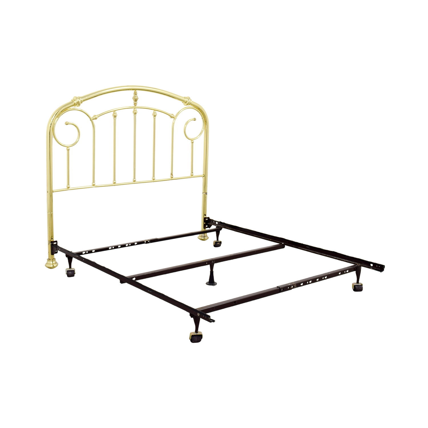 Brass and Metal Bed Frame for sale