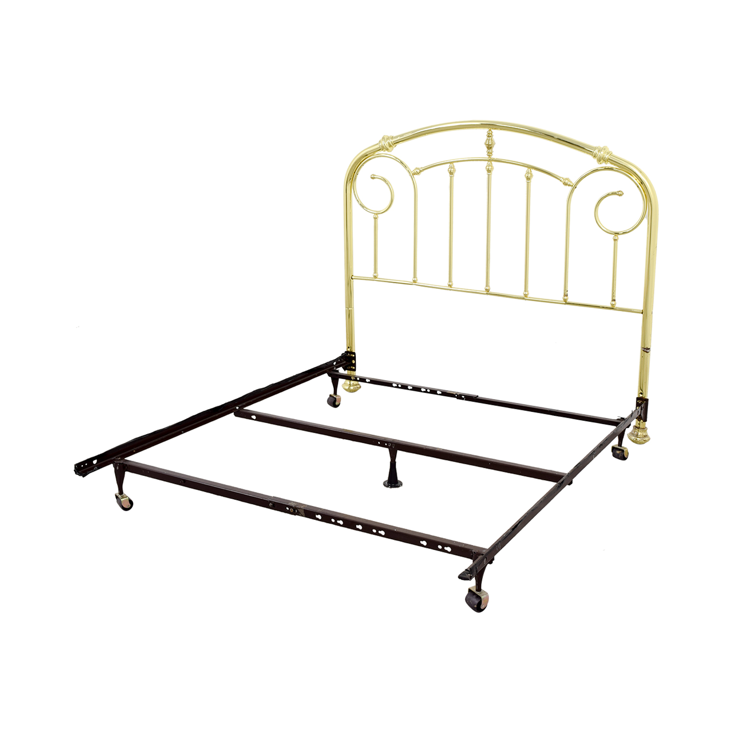 Brass and Metal Bed Frame on sale