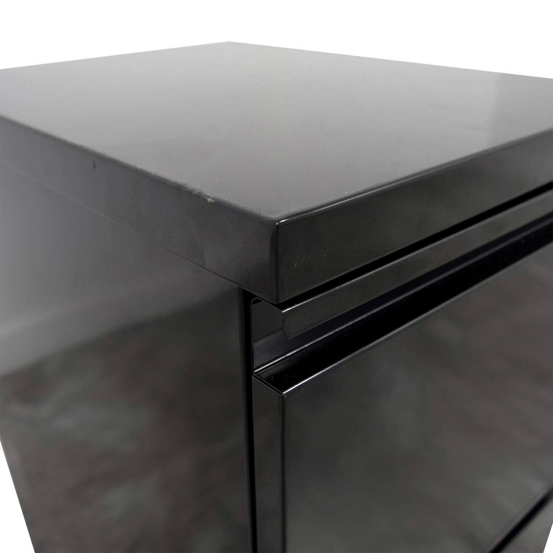 Staples 2-Drawer Mobile Pedestal File Cabinet sale