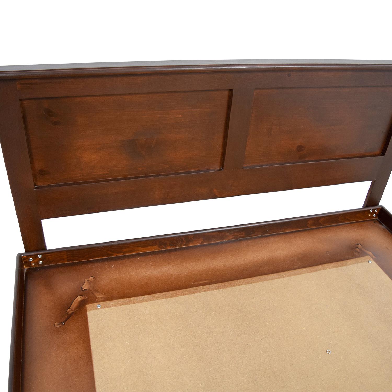 Gothic Cabinet Craft Wood Platform Bed / Beds