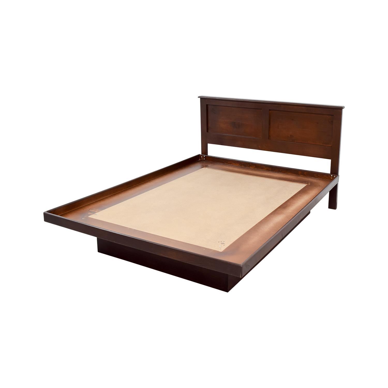 buy Gothic Cabinet Craft Gothic Cabinet Craft Wood Platform Bed online