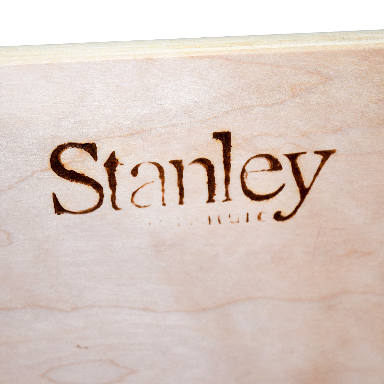 Stanley Stanley Mirrored Armoire with Two Drawers nj