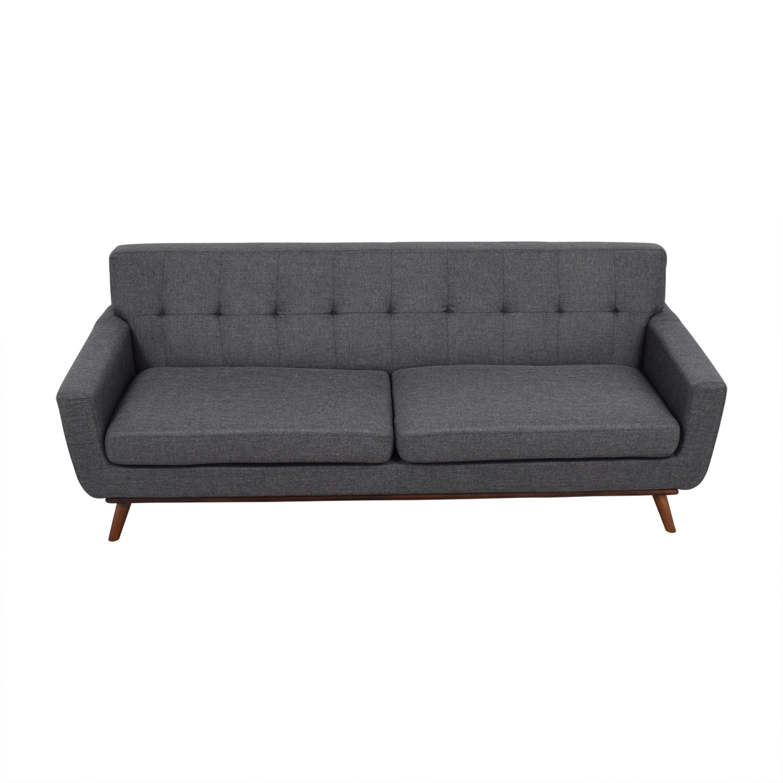 Inmod Inmod Charcoal Grey Tufted Lars Sofa price