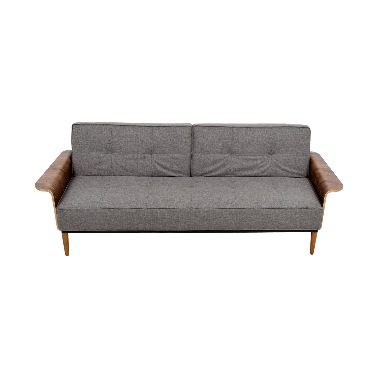 56 off inmod inmod bjorg tufted dark grey sofabed sofas for In mod furniture