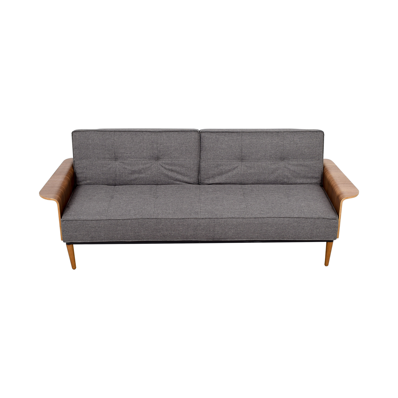 buy Inmod Inmod Bjorg Tufted Dark Grey Sofabed online