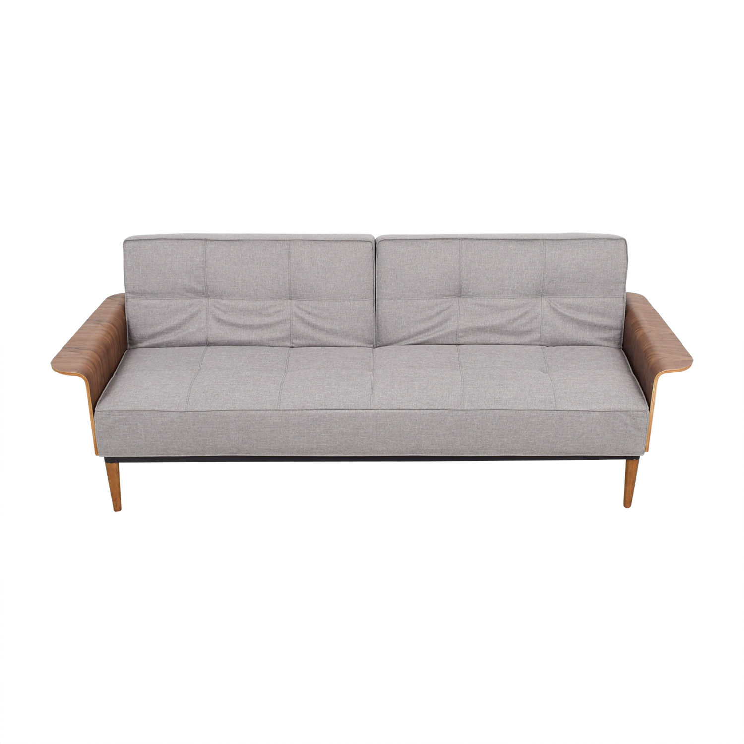 buy Inmod Bjorg Tufted Light Grey Sofabed Inmod Classic Sofas