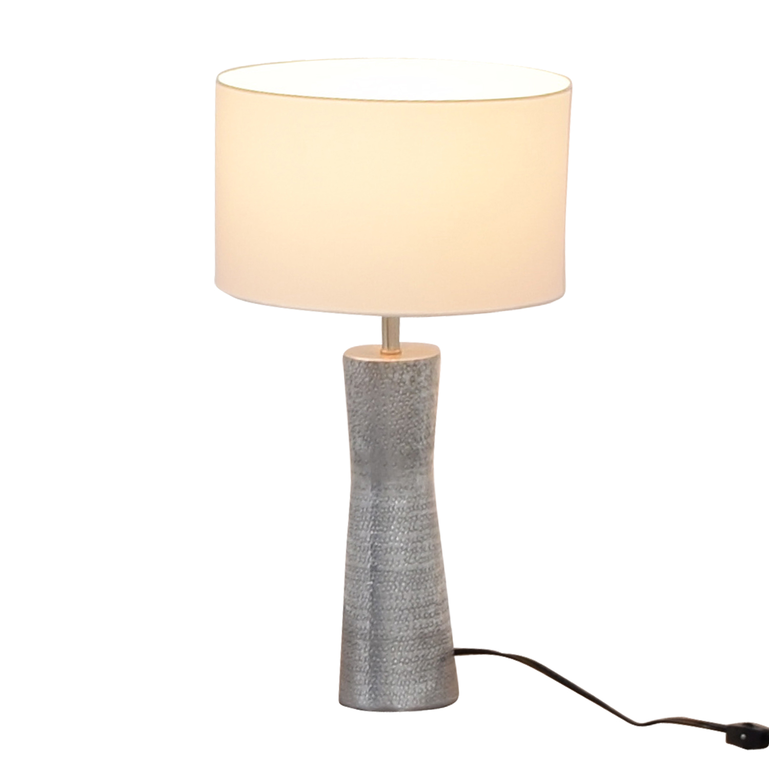buy Embossed Metal Lamp