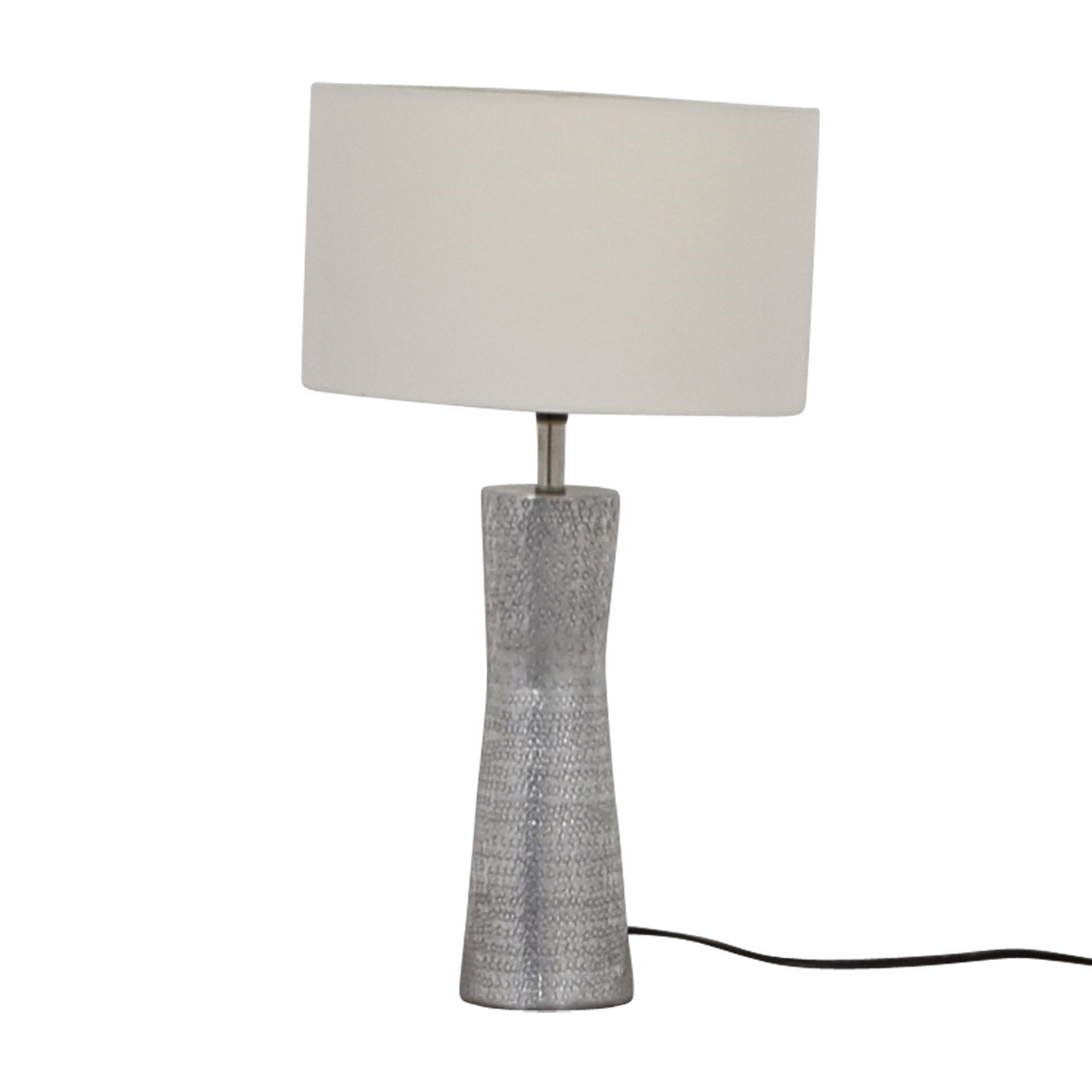 Embossed Metal Lamp Decor