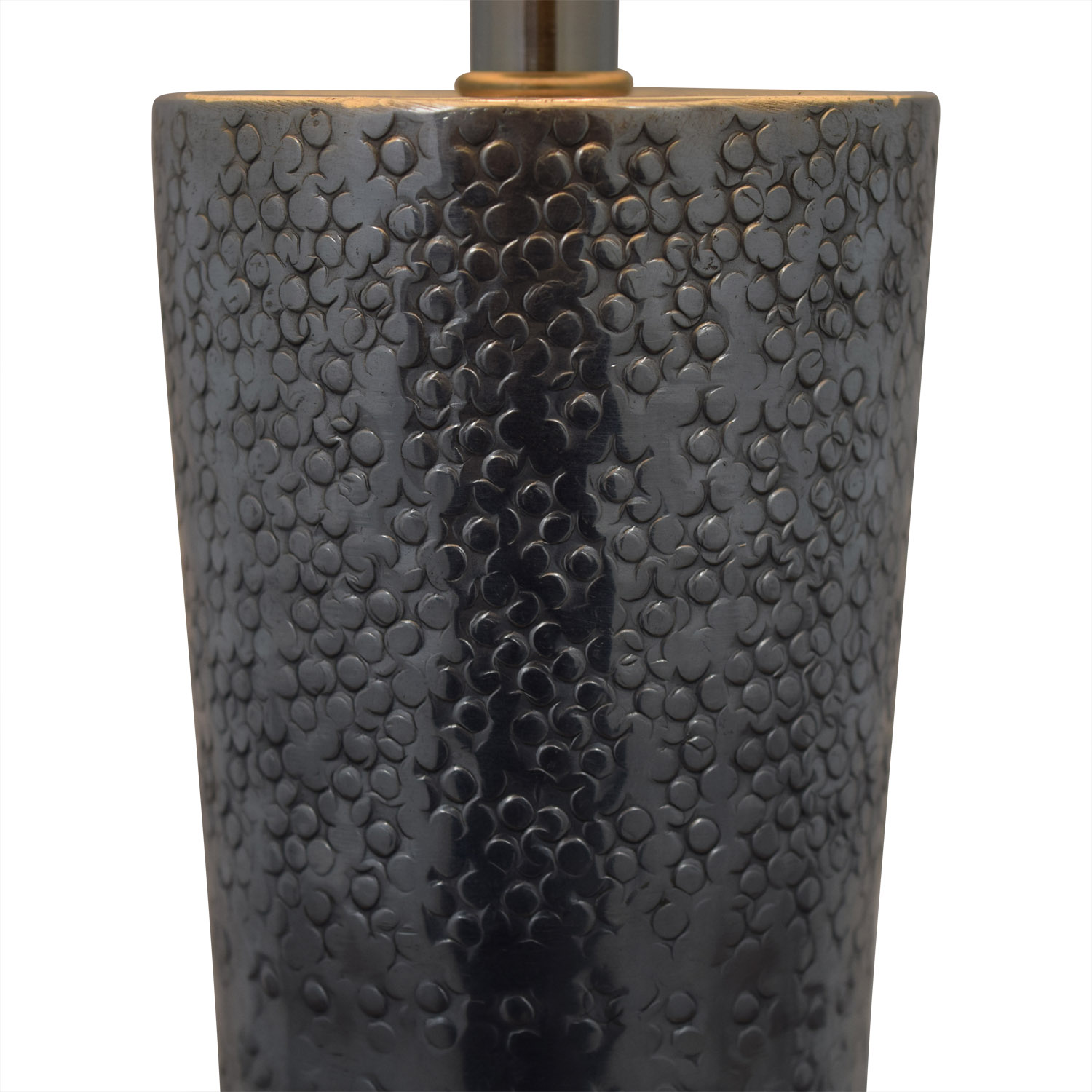 Embossed Metal Lamp / Decor