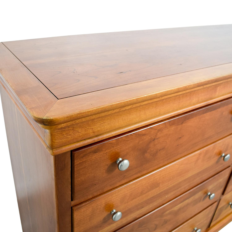 Stanley Furniture Company Stanley Furniture Company Eight Drawer Dresser Storage