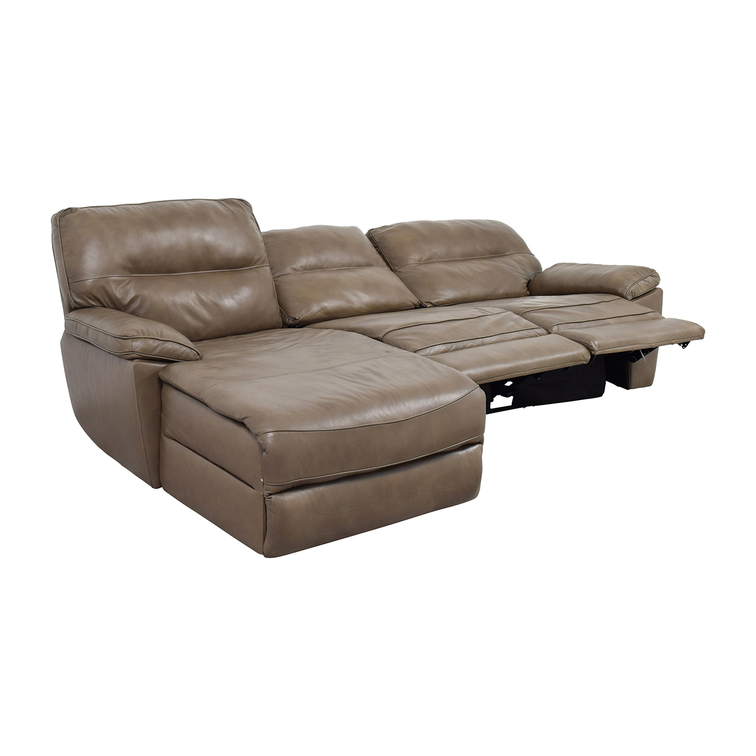 Chaise lounge recliner chair chairs seating for Catnapper jackpot reclining chaise 3989