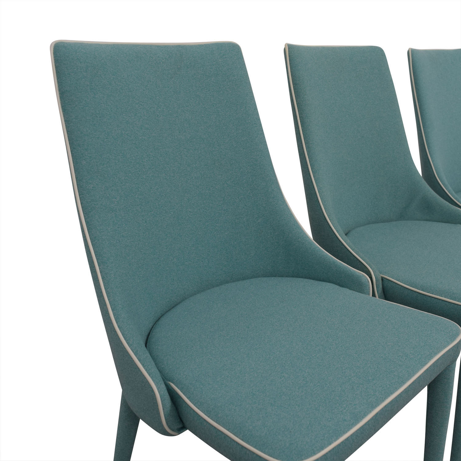 Inmod Turquoise Fabric Chair sale