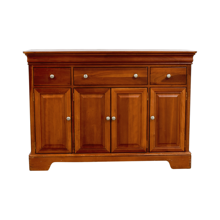 Stanley Furniture Stanley Furniture Wood Foyer Cabinet with Drawers dimensions