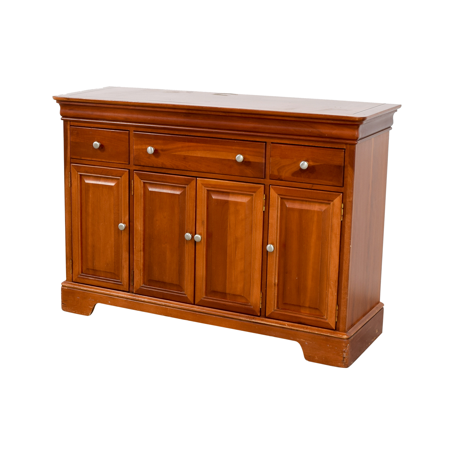 Stanley Furniture Stanley Furniture Wood Foyer Cabinet with Drawers Brown
