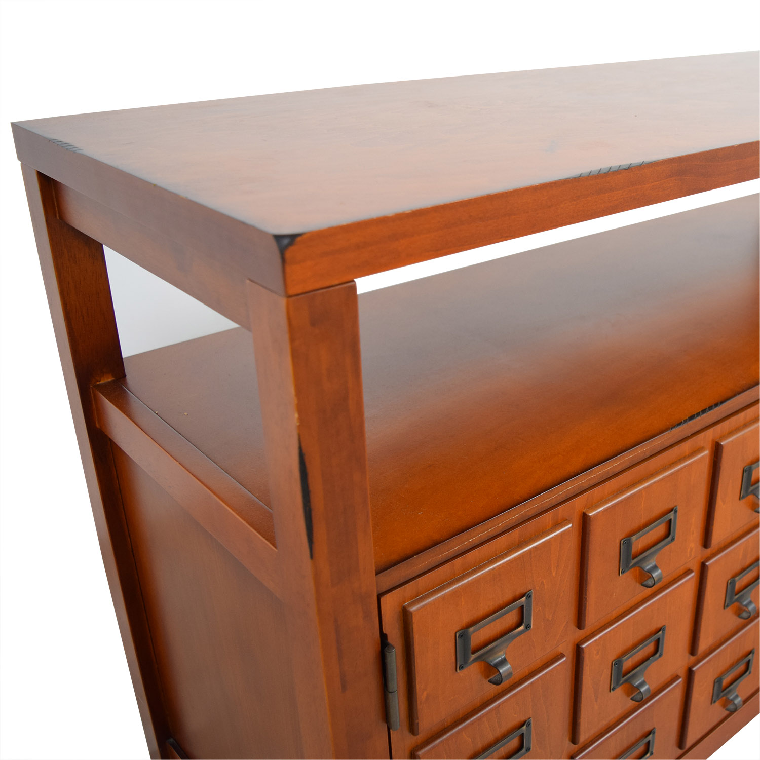 buy Wood TV Cabinet with Shelves online