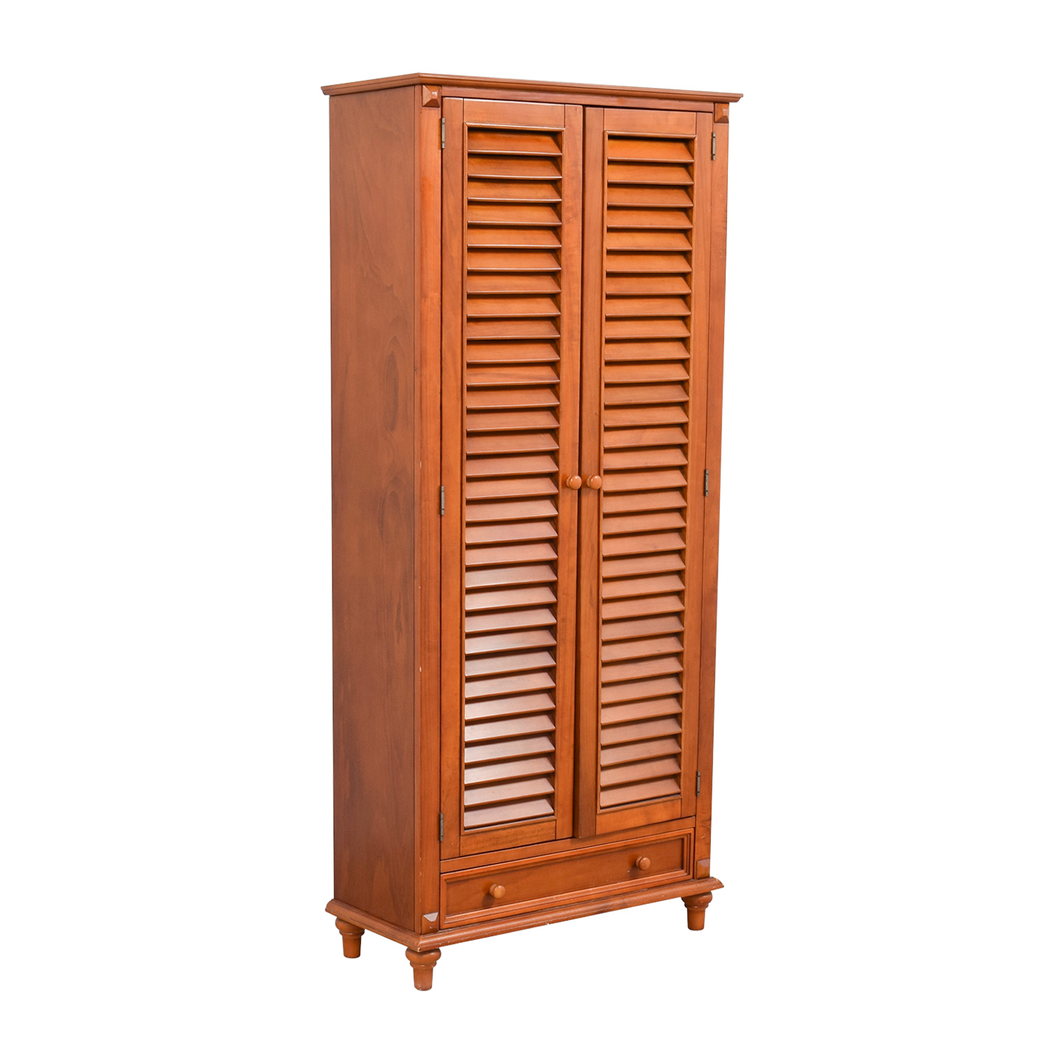 Tall Louvered Door Cabinet nj
