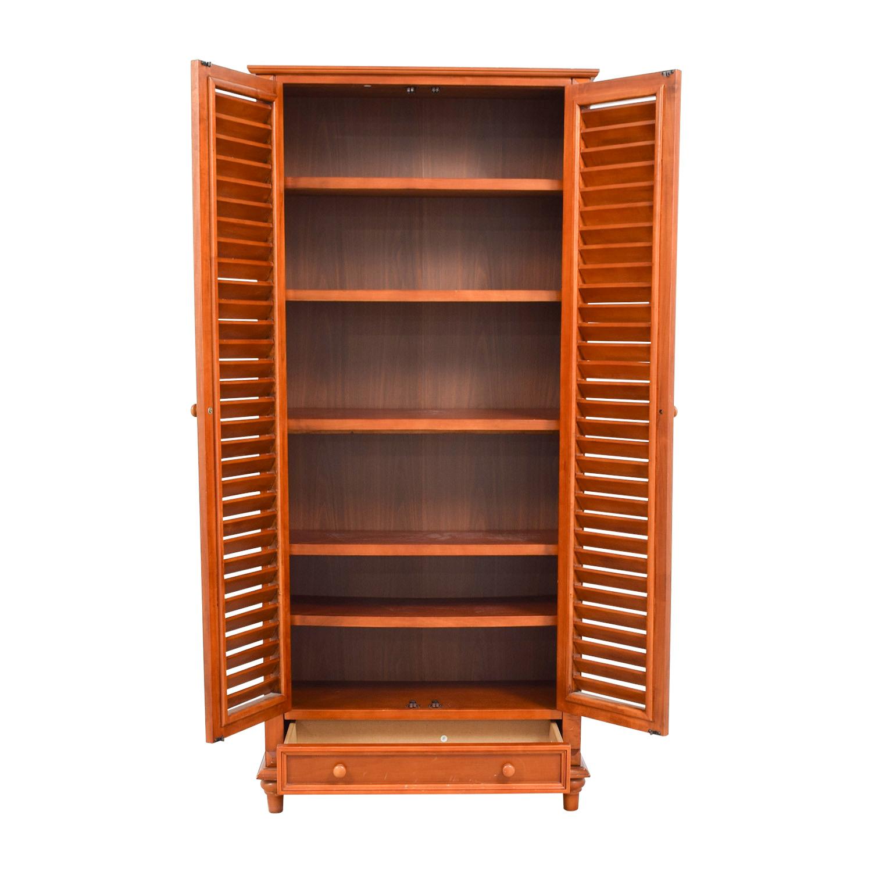 buy Tall Louvered Door Cabinet online