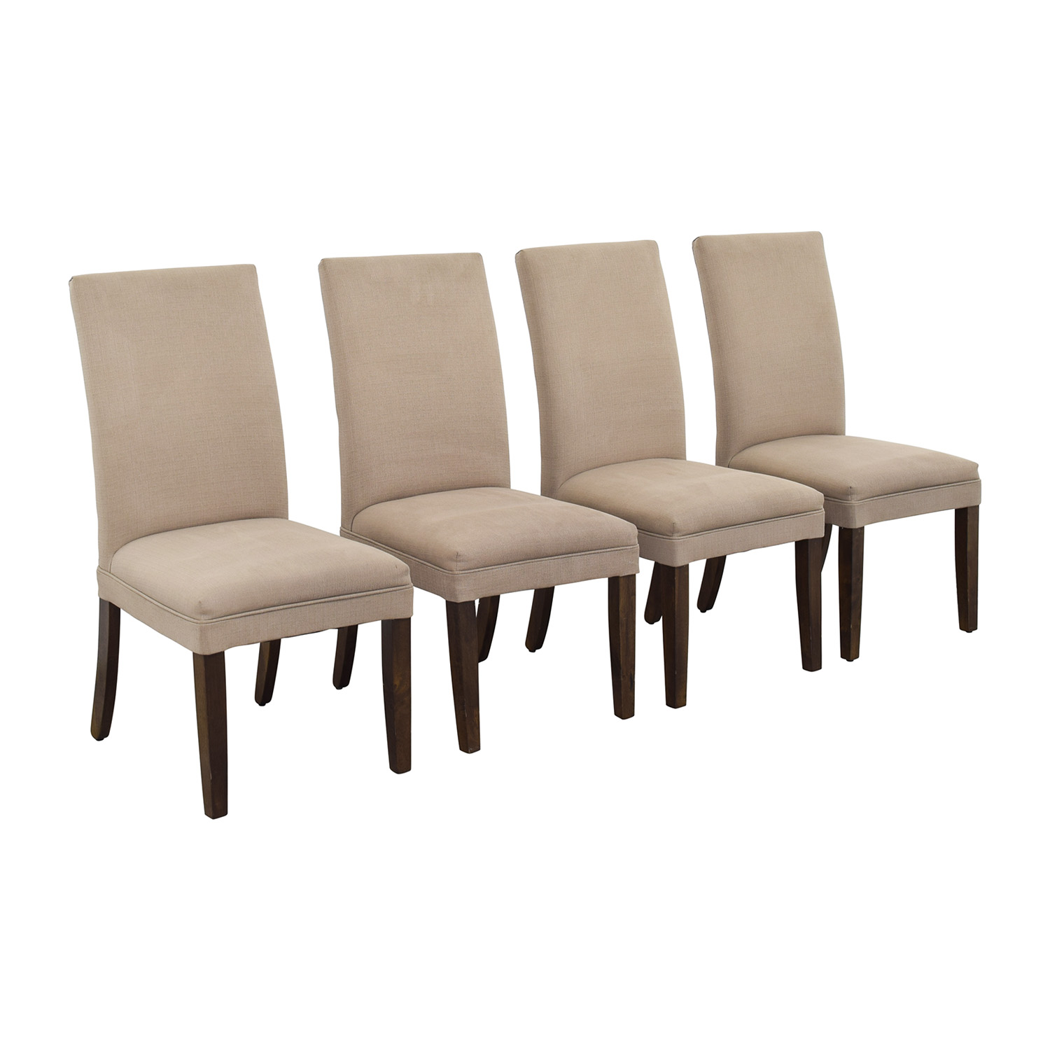 Tan Dining Room Chairs used