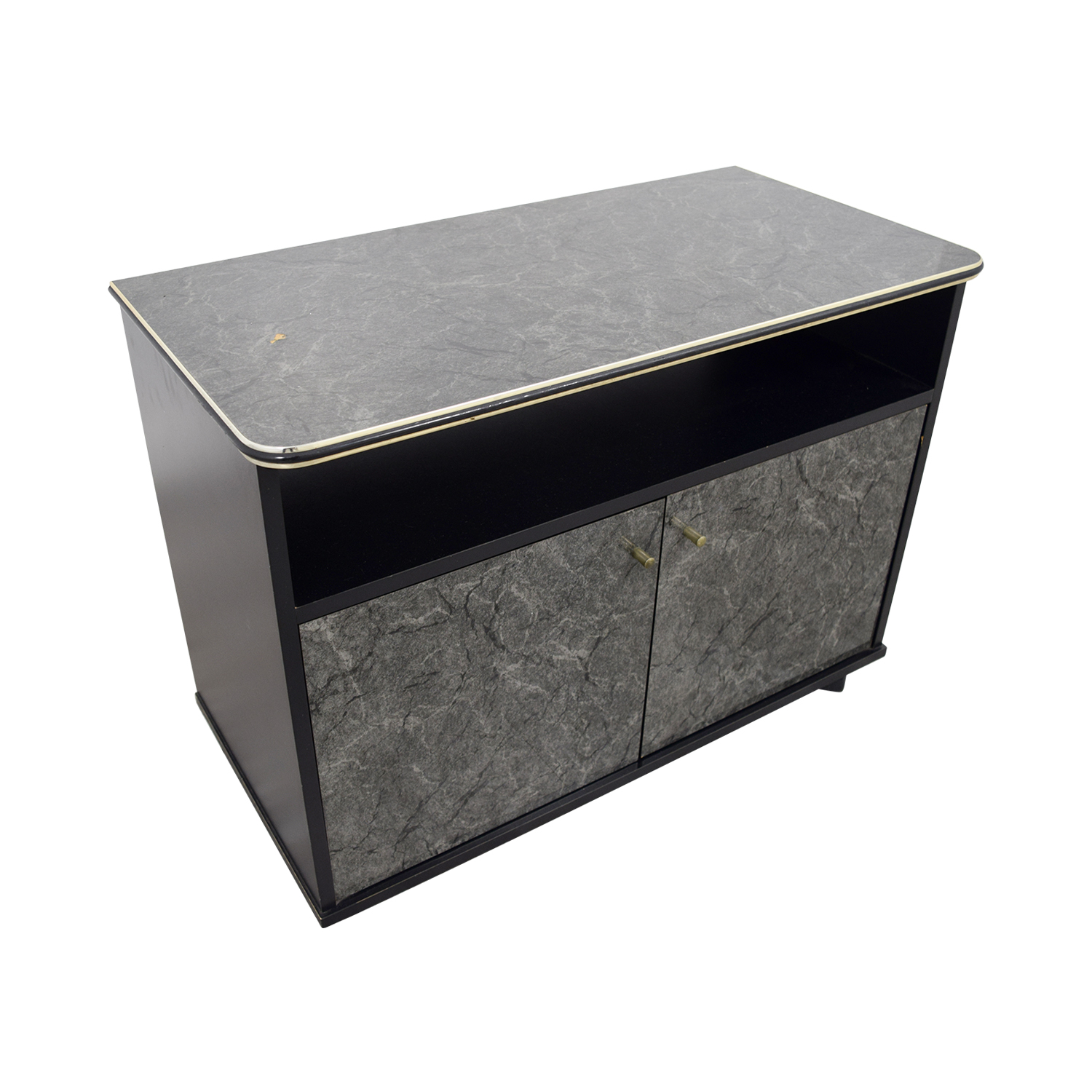 buy Marbleized Brown Entertainment Center Media Units