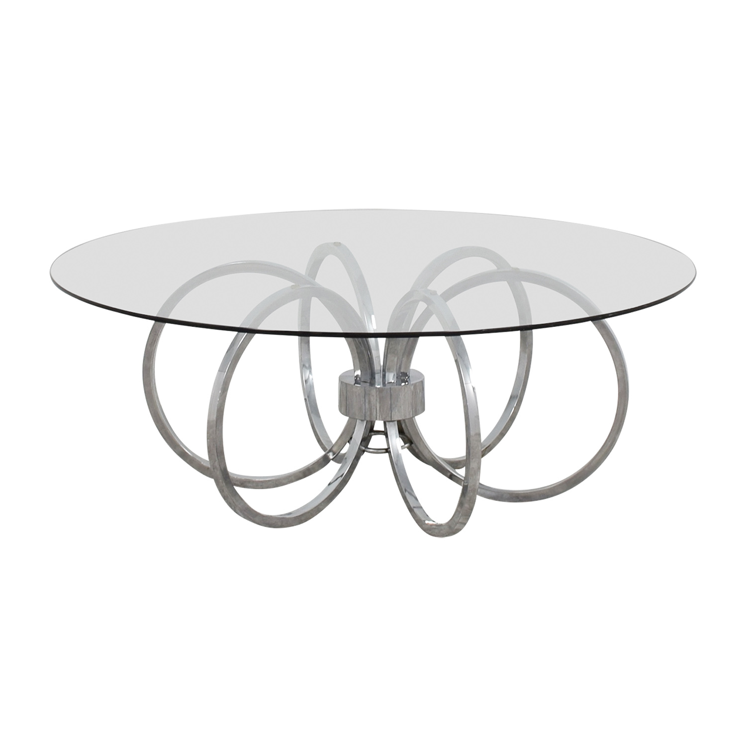 Metal Ring Coffee Table