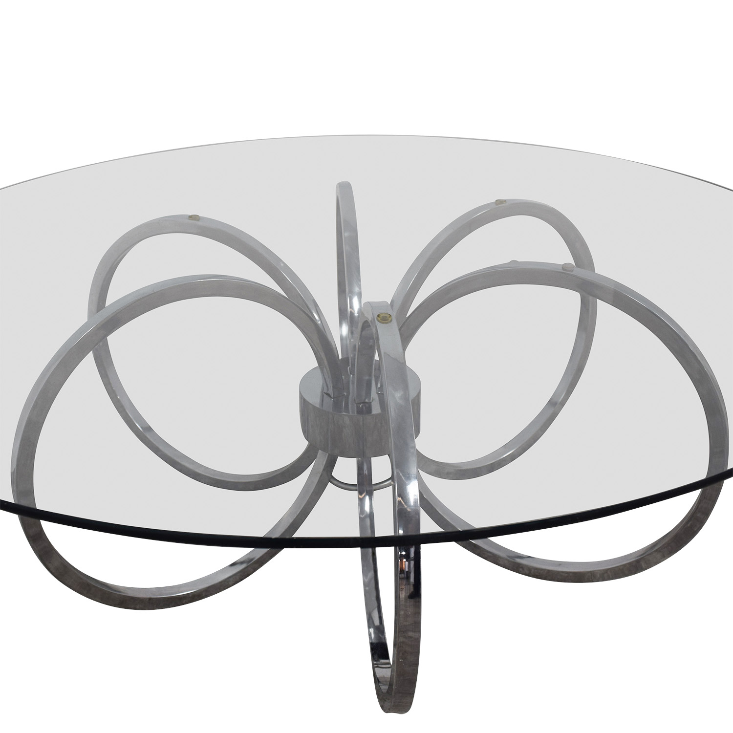 Metal Ring Coffee Table dimensions