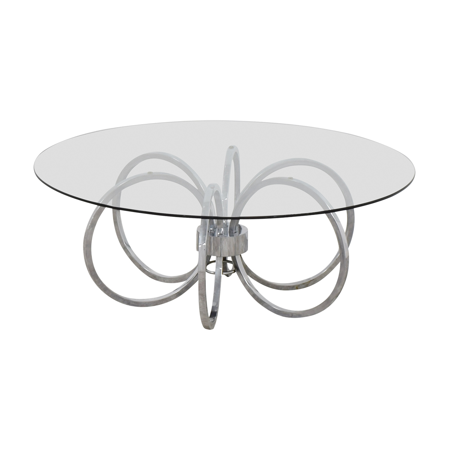buy Metal Ring Coffee Table