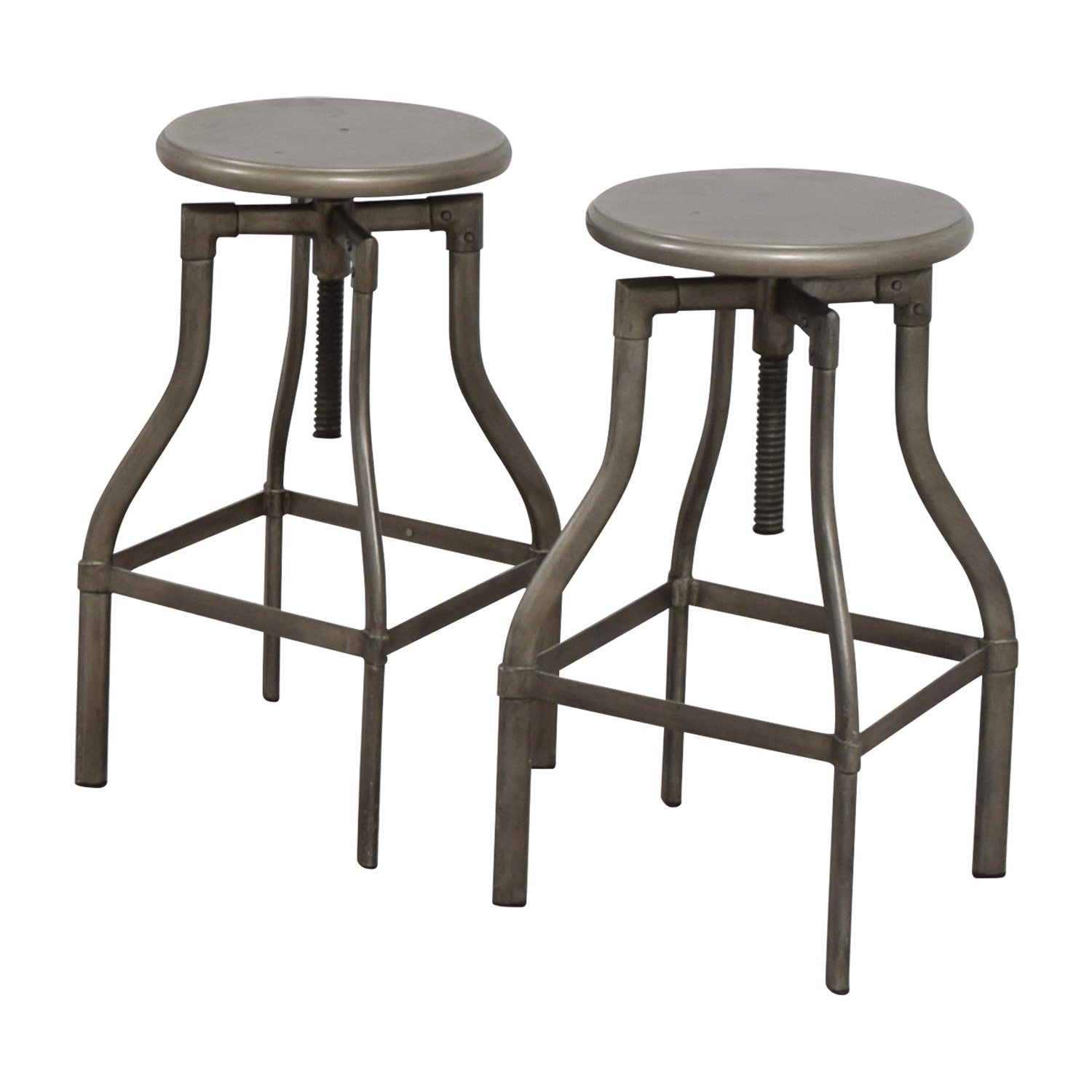 Crate & Barrel Crate & Barrel Turner Bar Stools used