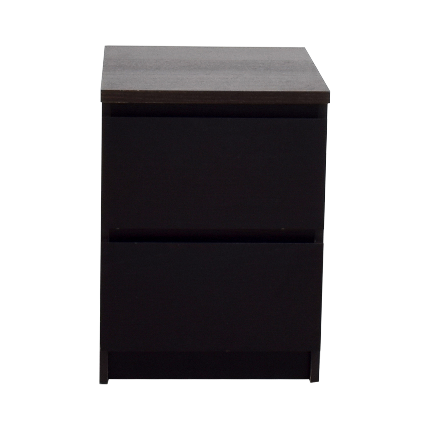 Ikea Two Drawer Night Stand Used