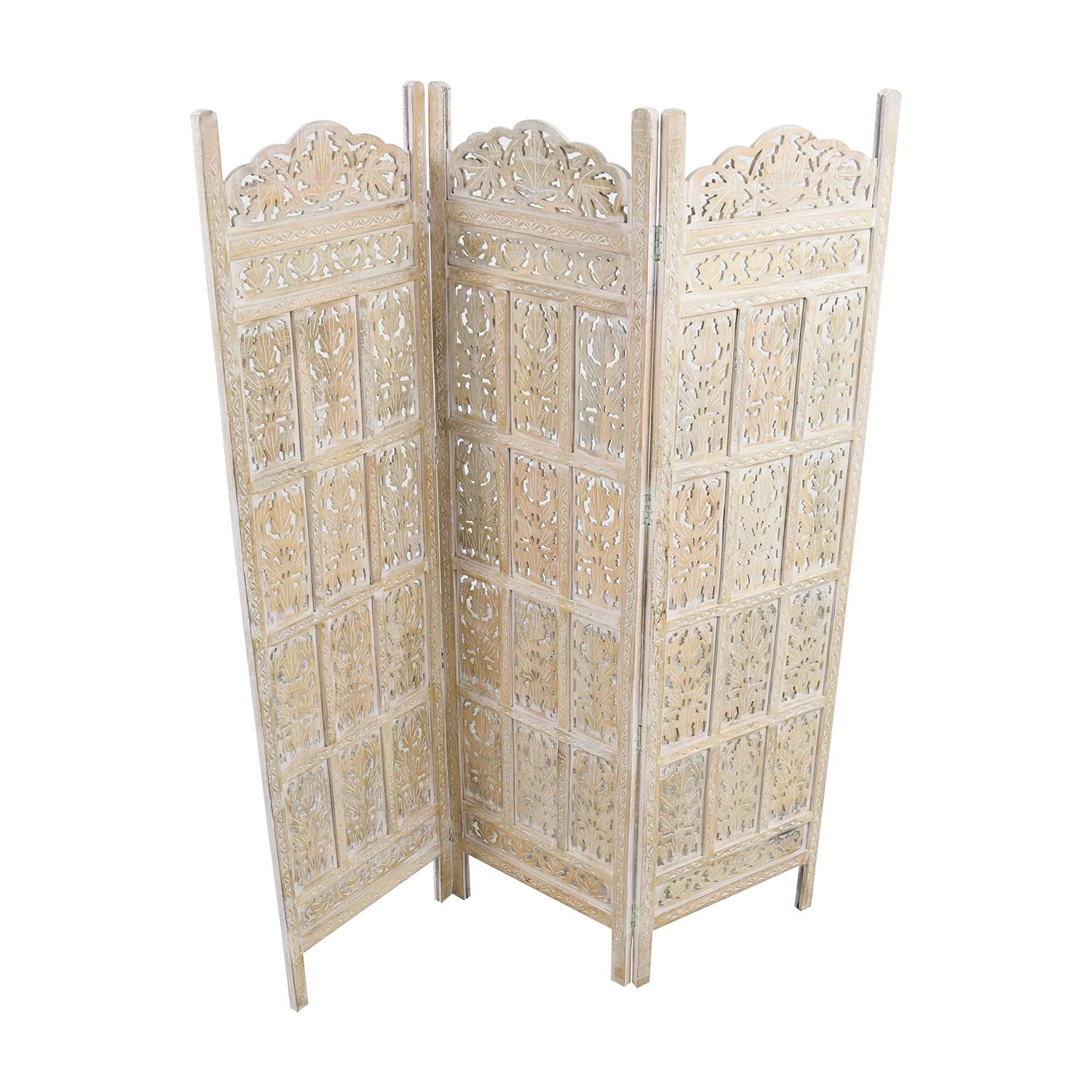 Ornate Screen Divider dimensions