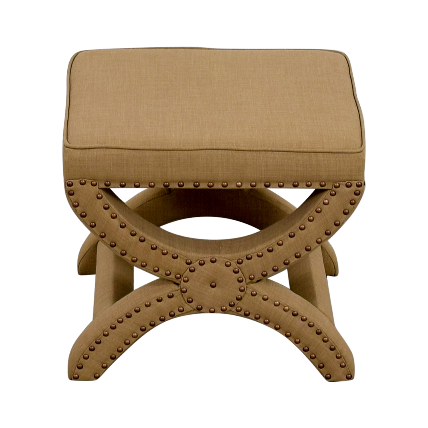 Abbyson Abbyson Studded Stool coupon