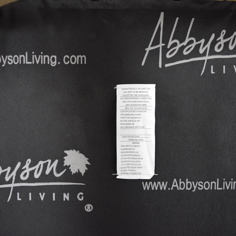 shop Abbyson Studded Stool Abbyson Stools