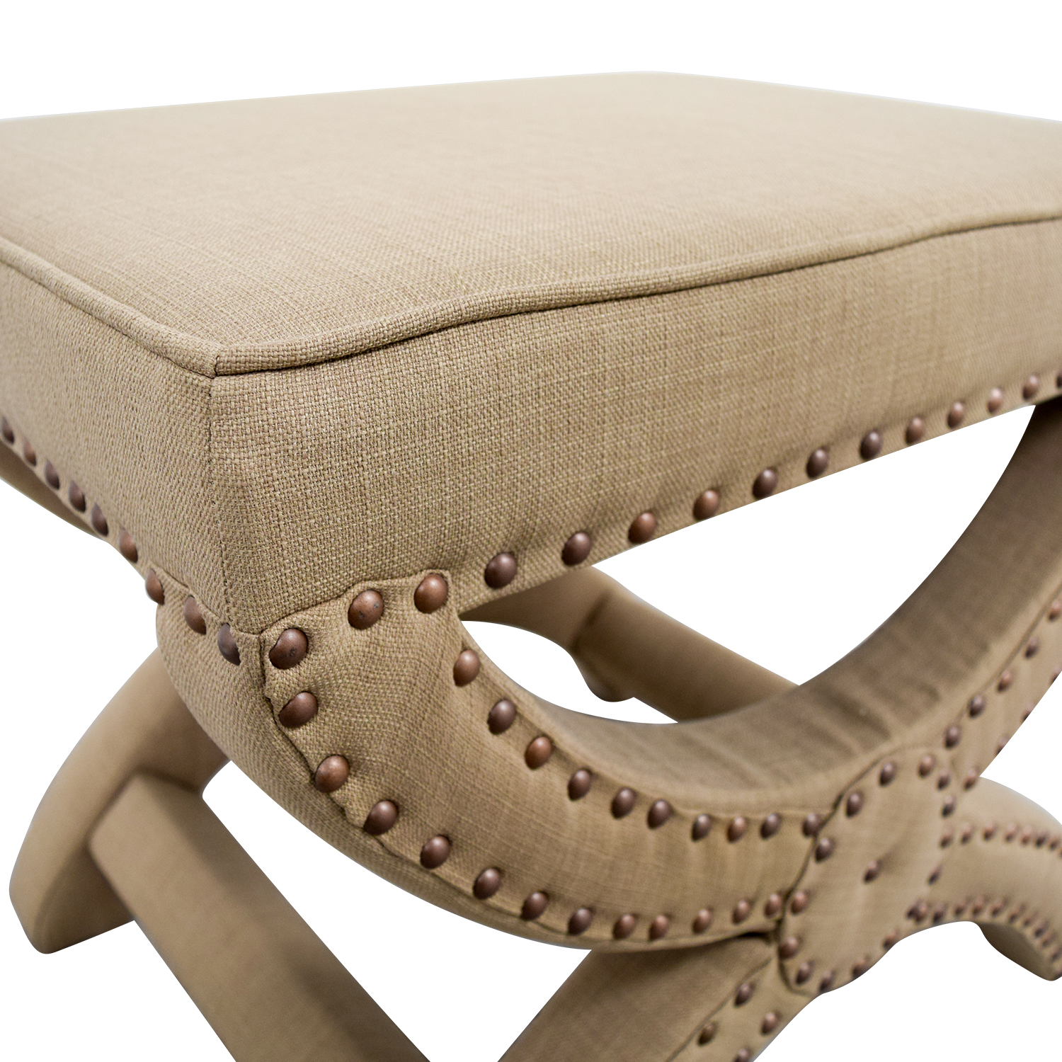 Abbyson Abbyson Studded Stool second hand